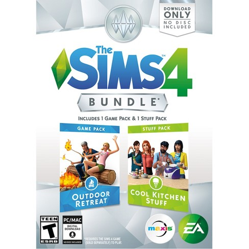 The Sims 4 Bundle Outdoor Retreat And Cool Kitchen Stuff Pc