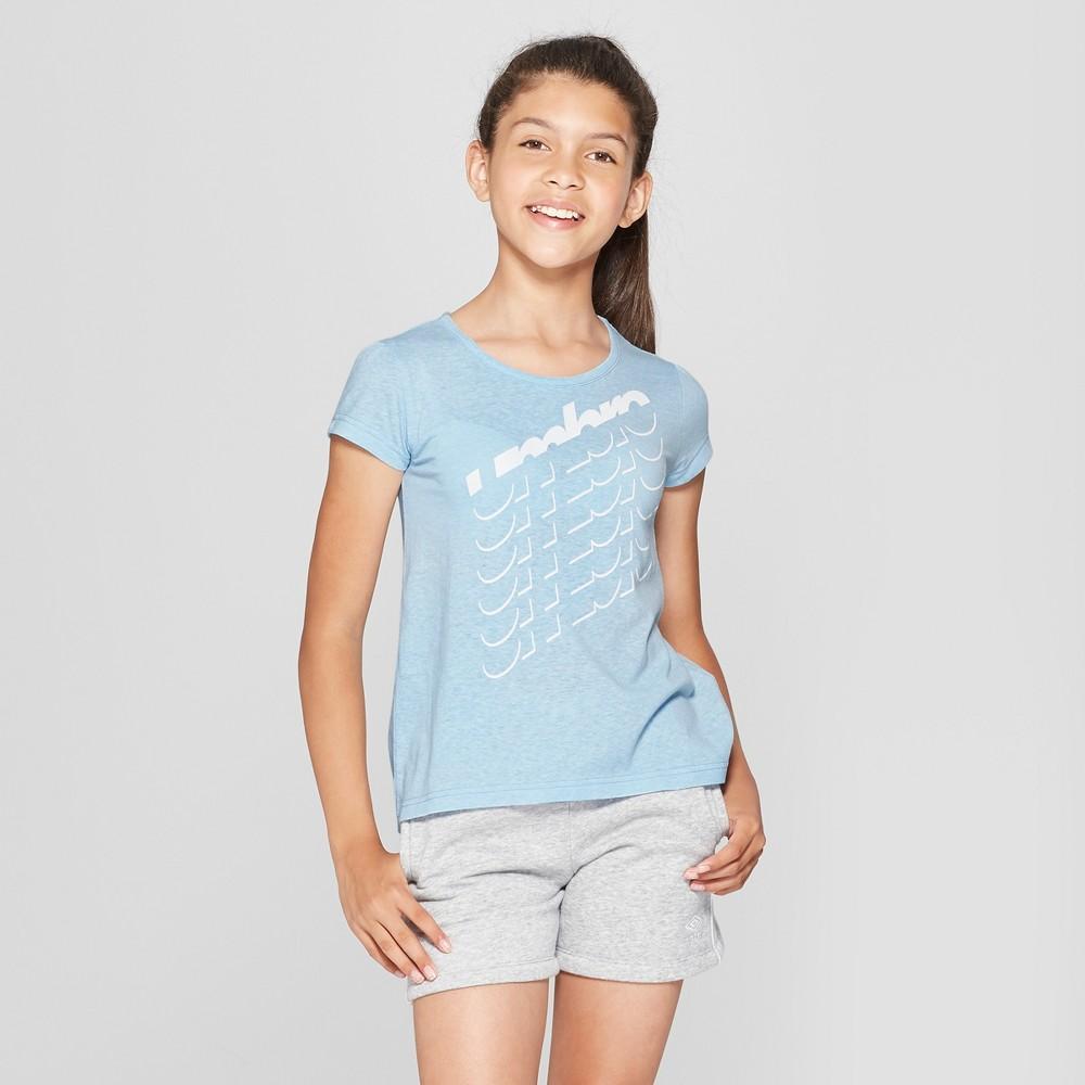 Activewear T-Shirt Umbro Air Blue S, Girl's