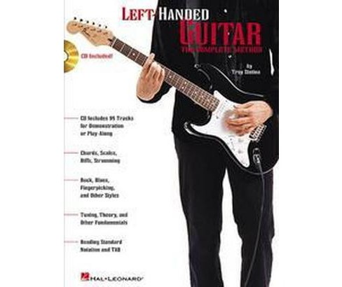 Left-Handed Guitar : The Complete Method (Paperback) (Troy Stetina) - image 1 of 1