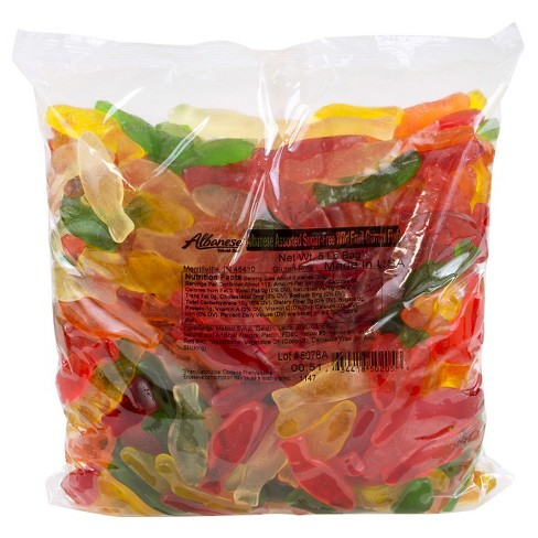 Albanese Assorted Sugar Free Gummi Fish - 5lbs - image 1 of 1