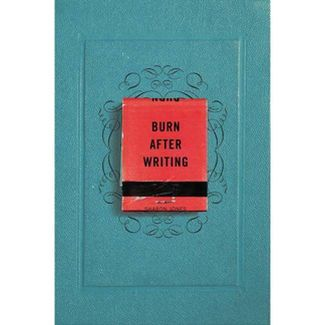 Burn After Writing - by Sharon Jones (Paperback)