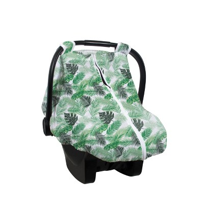 Bebe Au Lait Muslin Car Seat Cover - Palm
