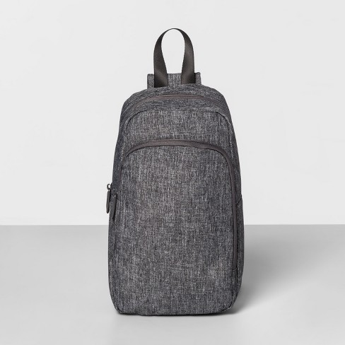 Anheft Rfid Sling Backpack Gray Made By Design