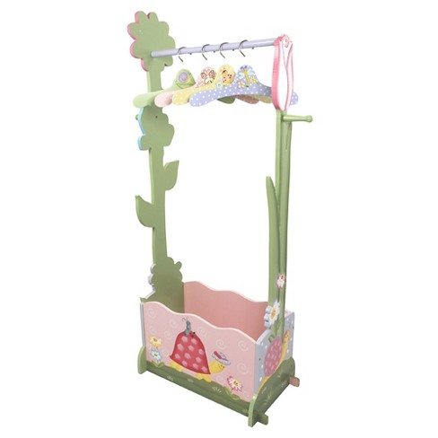 Fantasy Fields Magic Garden Dress Up Valet Rack with 4 Hangers - Teamson - image 1 of 8