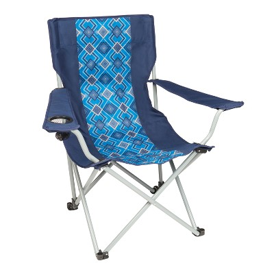 Wenzel Oversized Captain's Chair with Carrying Case - Blue