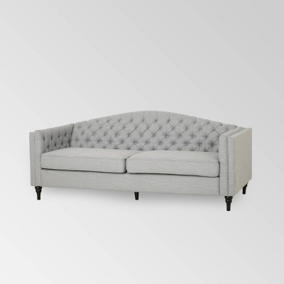 Antoine Traditional Button Tufted Sofa - Christopher Knight Home