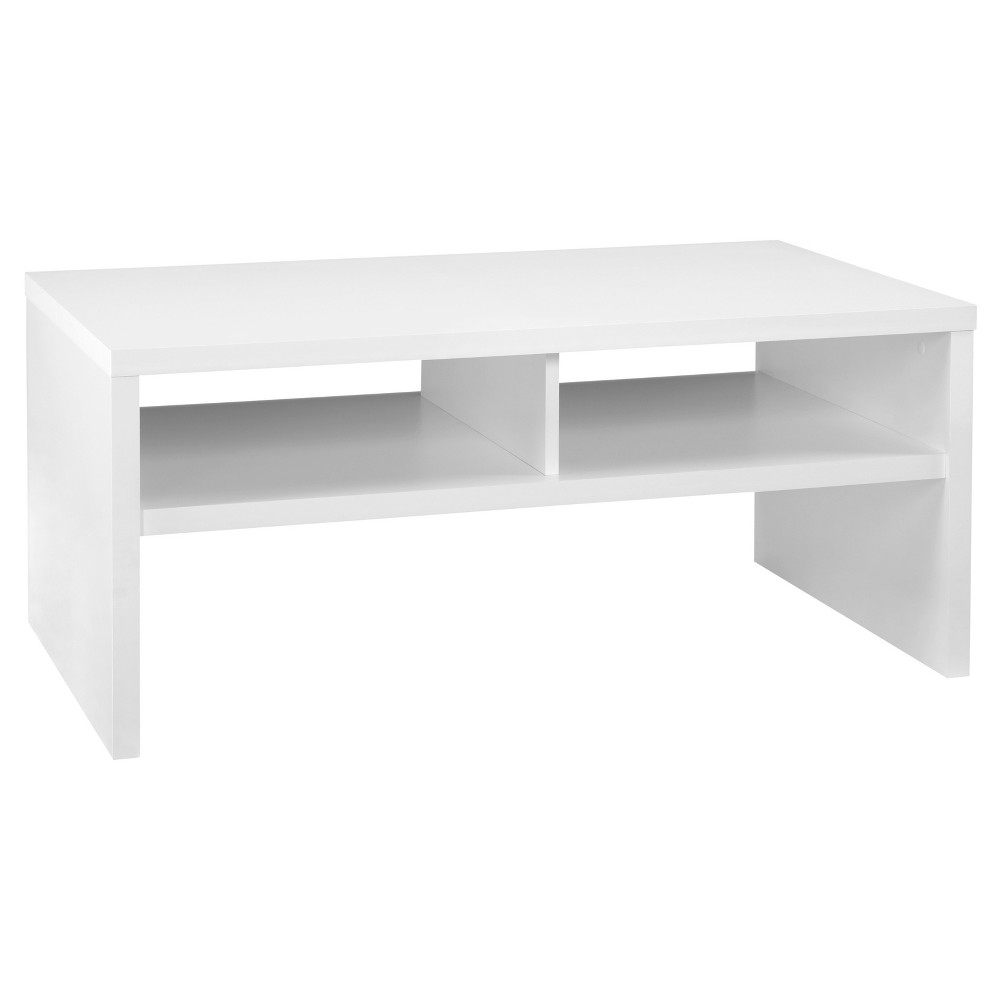 Storage Furniture Coffee Table - White - ClosetMaid