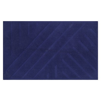 Geo Stripe Bath Mat (20 X34 )Mood Ring Blue - Project 62™ + Nate Berkus™
