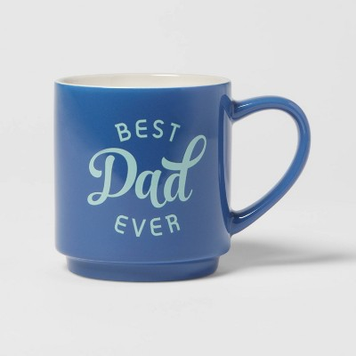 16oz Stoneware Best Dad Ever Mug - Room Essentials™