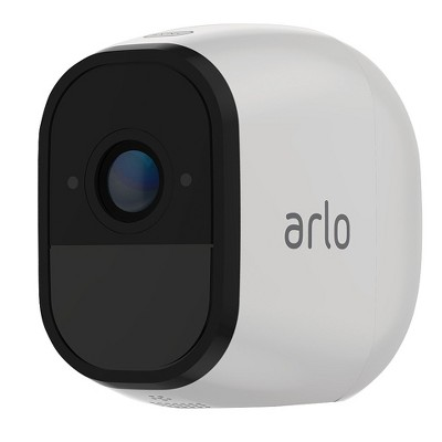Arlo™ Pro Add-on Rechargeable Wire-Free HD Security Camera with Audio and Siren VMC4030-100NAS by Netgear - White