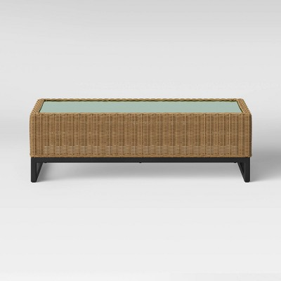 Niels Patio Coffee Table - Brown - Project 62™