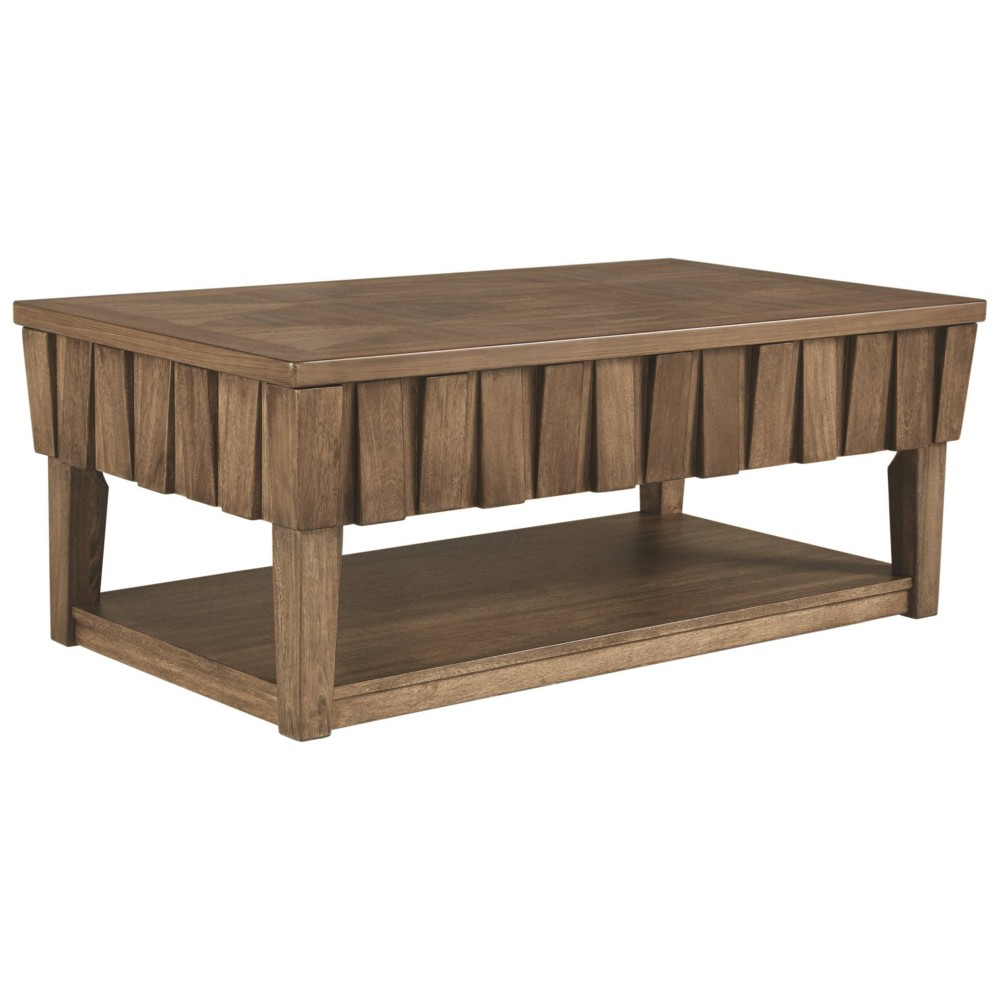 Rowenbeck Lift Top Cocktail Table Brown - Signature Design by Ashley
