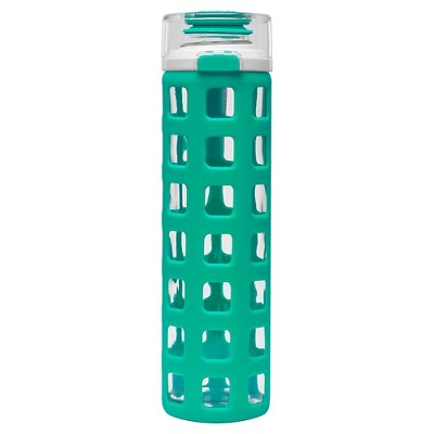 Ello® Syndicate Water Bottle 20oz Glass - Teal