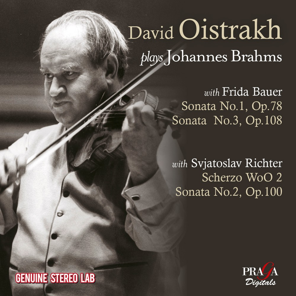David Oistrakh - David Oistrakh Plays Johannes Brahms (CD)