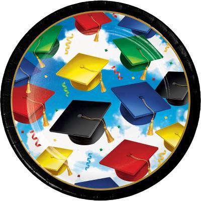 Graduation Celebration 7  Dessert Plates - 50ct