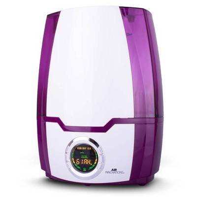 Air Innovations 1.37 Gal Ultrasonic Cool Mist Humidifier with Aroma Tray Purple