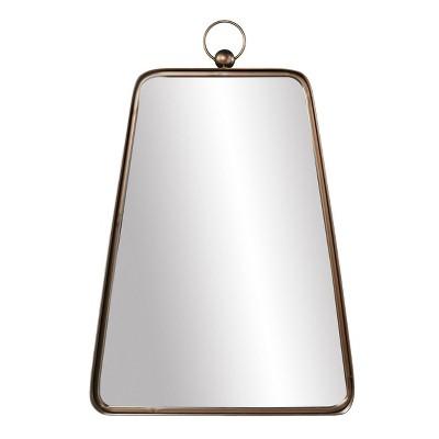 "19.75"" x 30.25"" Tarxethe Decorative Wall Mirror Antique Bronze - Southern Enterprises"