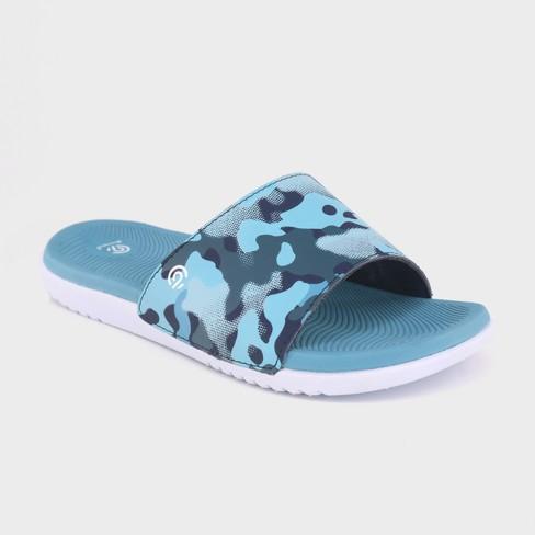 fceafba7ed9710 Boys  C9 Champion® Patch Slide Sandals   Target