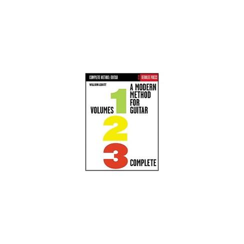 Berklee Press A Modern Method for Guitar - Volumes 1, 2, 3 Complete Book - image 1 of 1