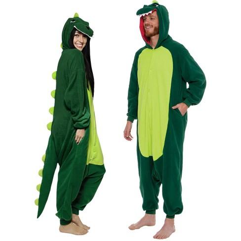 FUNZIEZ! - Dinosaur Adult Unisex Novelty Union Suit - image 1 of 4