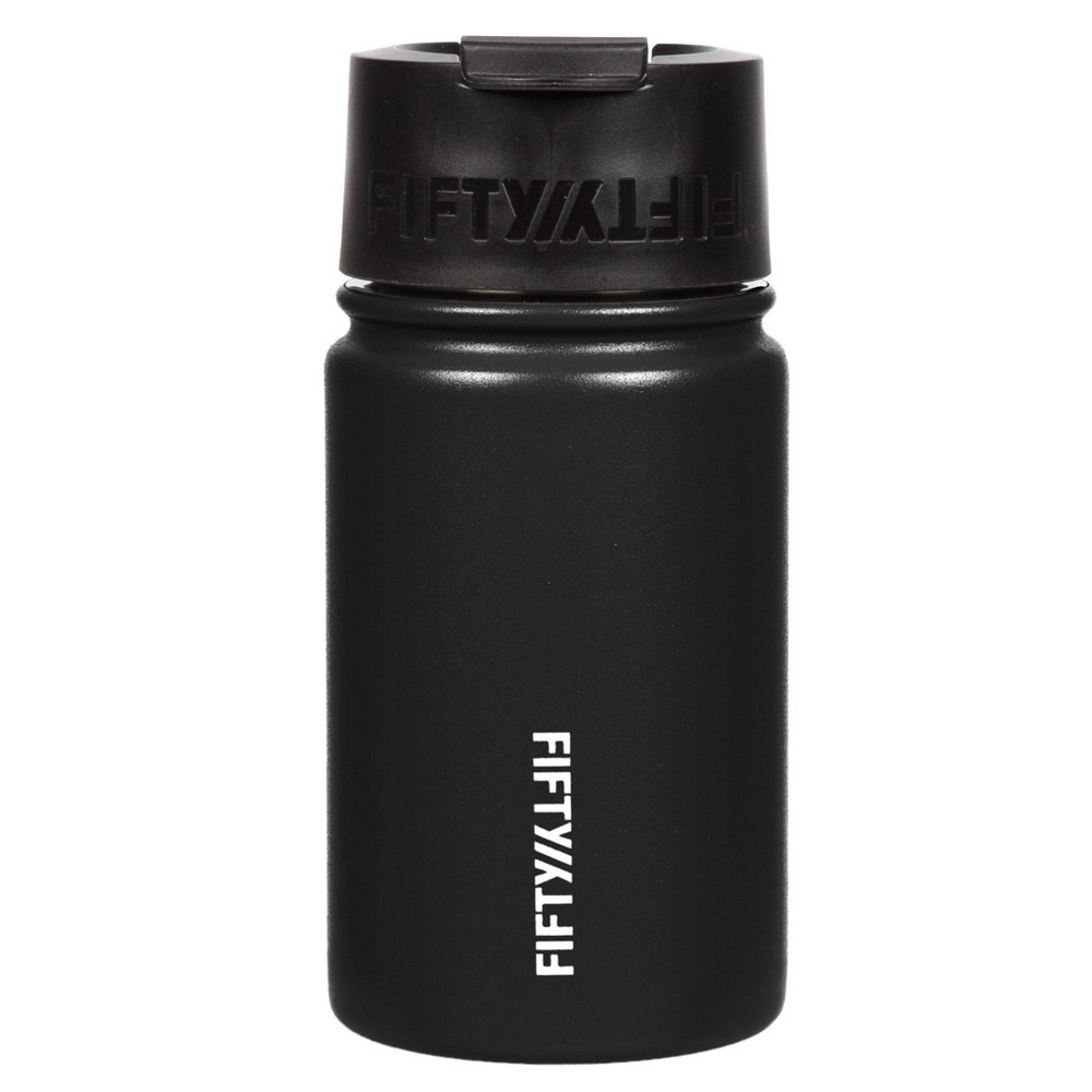 Image of FIFTY/FIFTY 12oz Bottle Flip Cap Matte Black