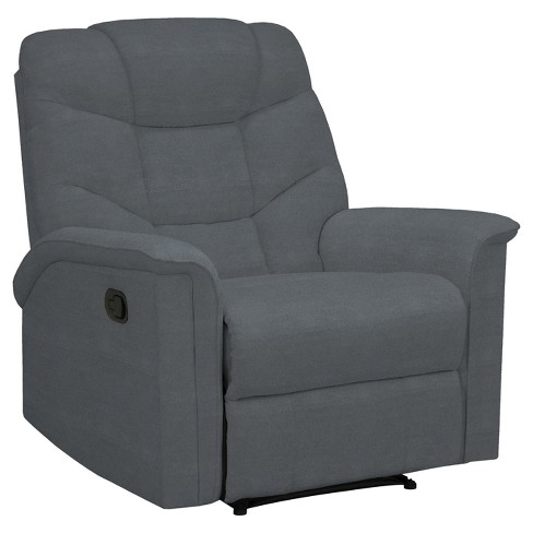 Wall Hugger Microfiber Recliner Chair -  ProLounger - image 1 of 6