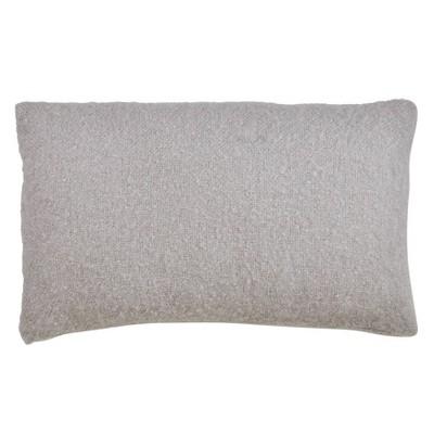 Faux Mohair Throw Pillow Cover - Saro Lifestyle