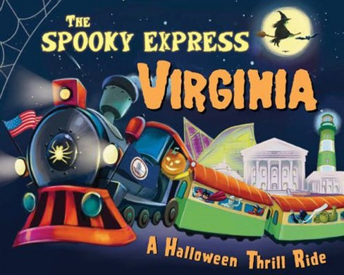 Spooky Express Virginia -  by Eric James (Hardcover) - image 1 of 1