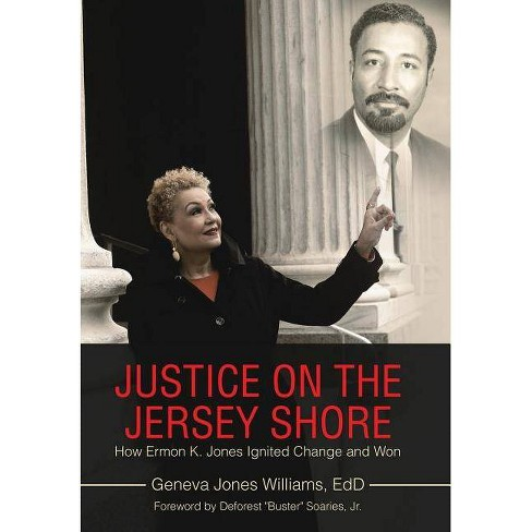 Justice on the Jersey Shore - by  Geneva Jones Williams Edd (Hardcover) - image 1 of 1