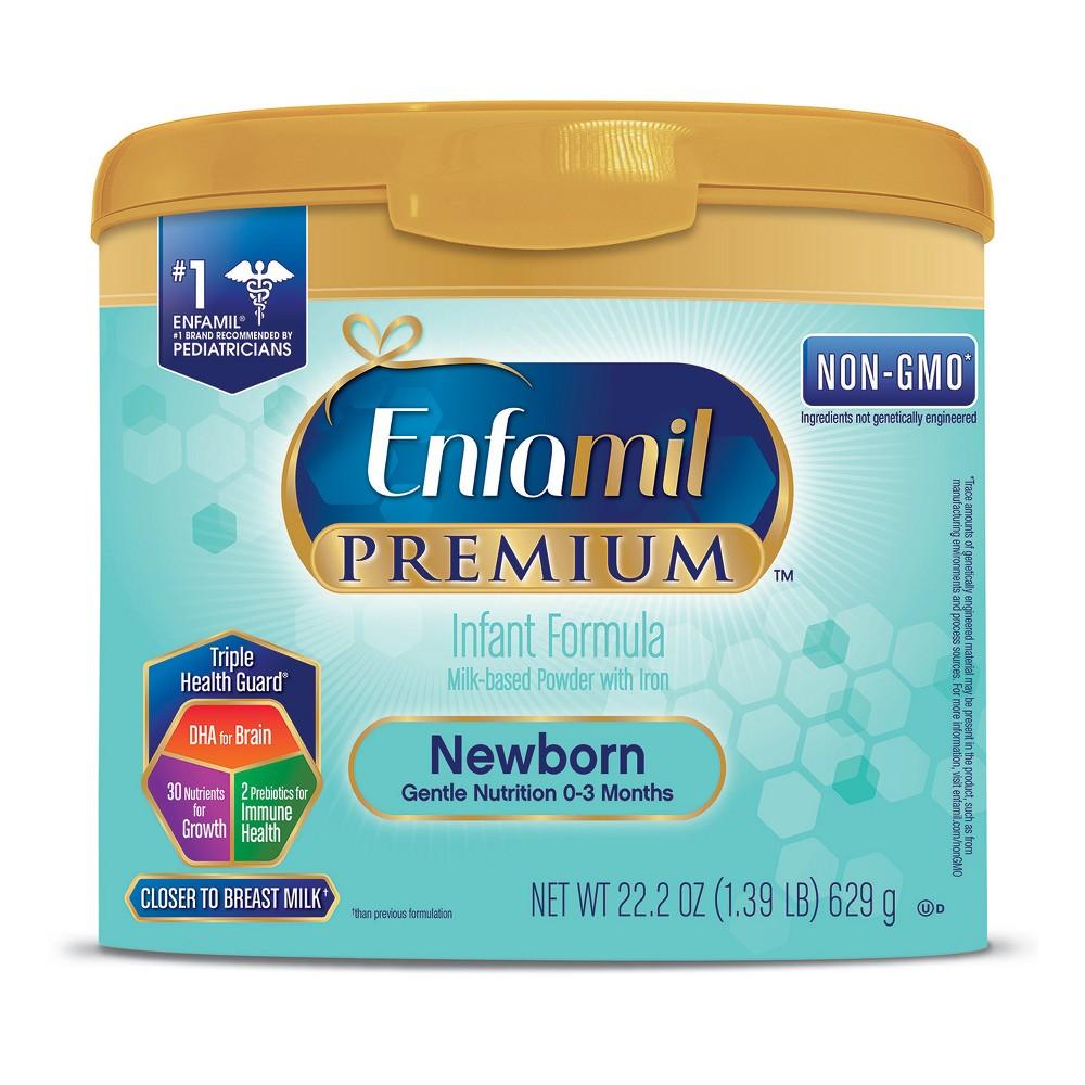 Enfamil Premium Newborn Formula Powder Tub - 22.2oz