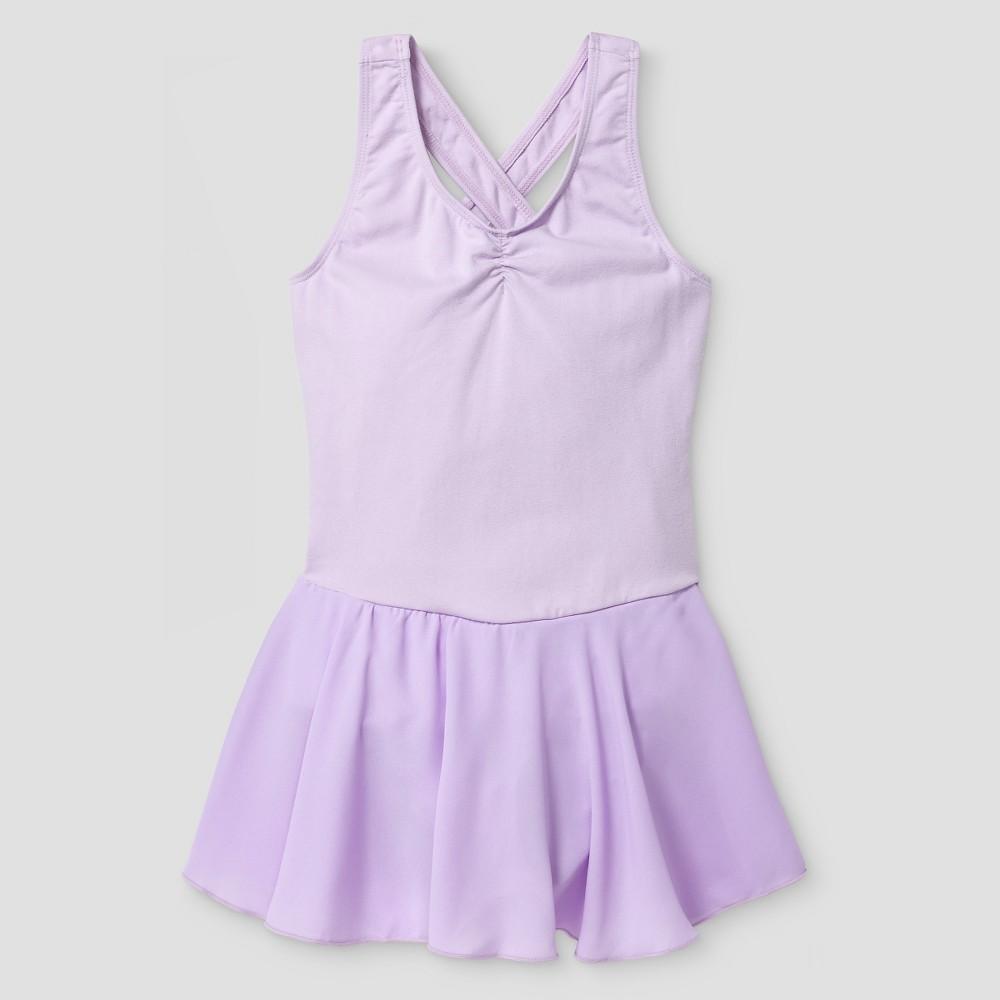 Girls' Danshuz Leotard - Lavender (Purple) M(8-10)