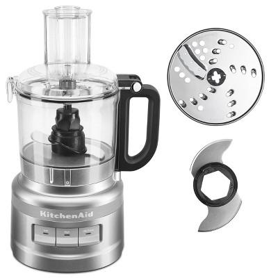 KitchenAid 7 Cup Food Processor - Silver KFP0718CU