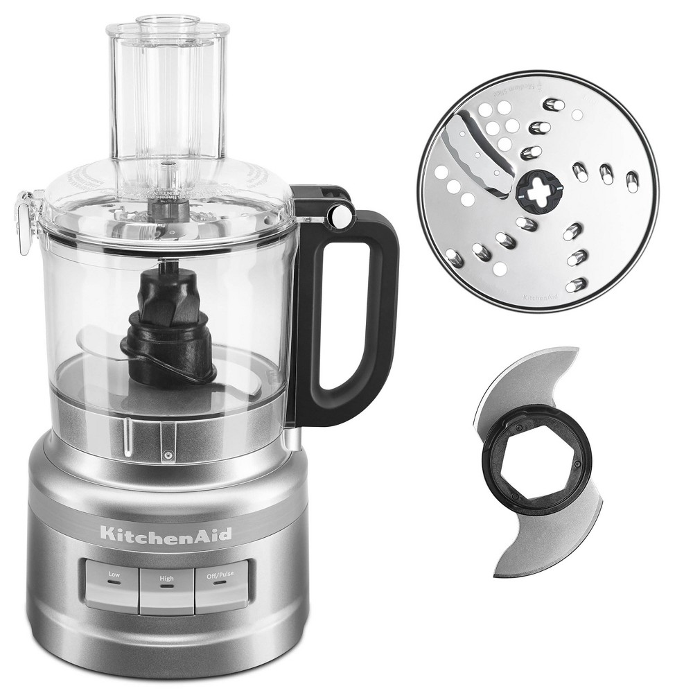 KitchenAid 7 Cup Food Processor - KFP0718BM KitchenAid 7 Cup Food Processor - KFP0718BM Color: Black. Gender: unisex.