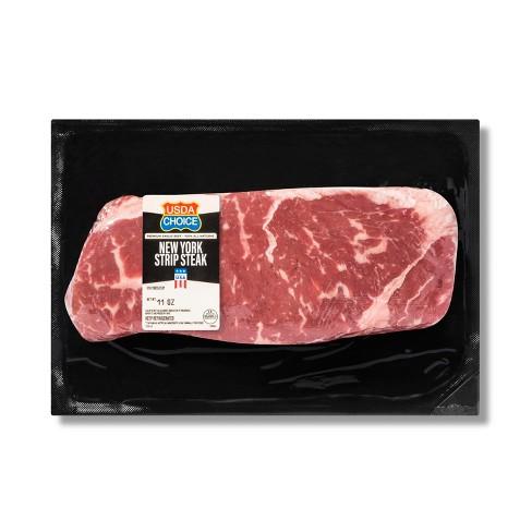 USDA Choice Angus Beef New York Strip Steak - 11oz - image 1 of 1