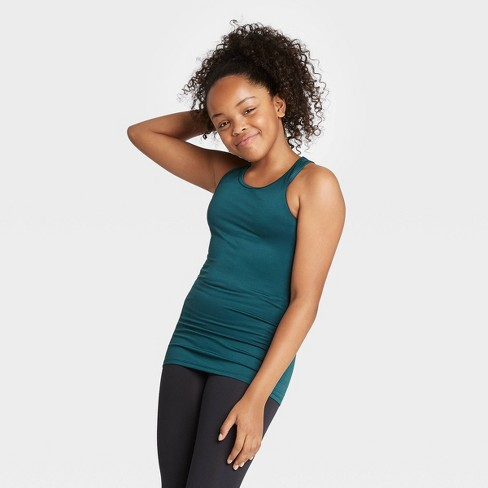 Girls' Racerback Tank Top - All in Motion™ - image 1 of 4