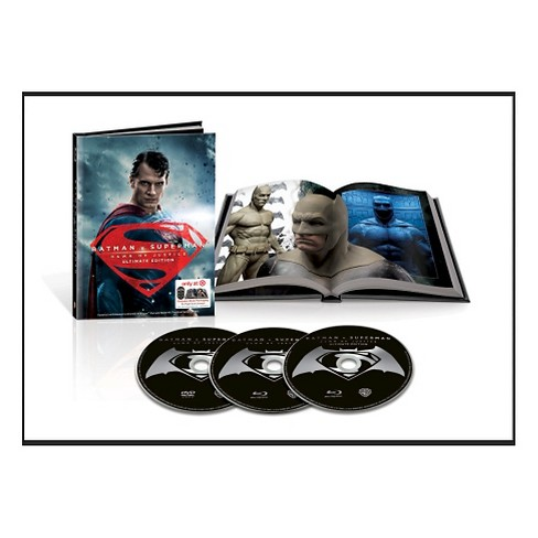 Batman V Superman: Dawn of Justice Target Exclusive (Blu-ray/DVD Lenticular + Digibook) - image 1 of 5