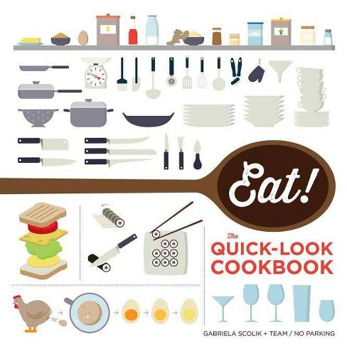 Eat! the Quick-Look Cookbook - by  The Show Me Team (Paperback) - image 1 of 1