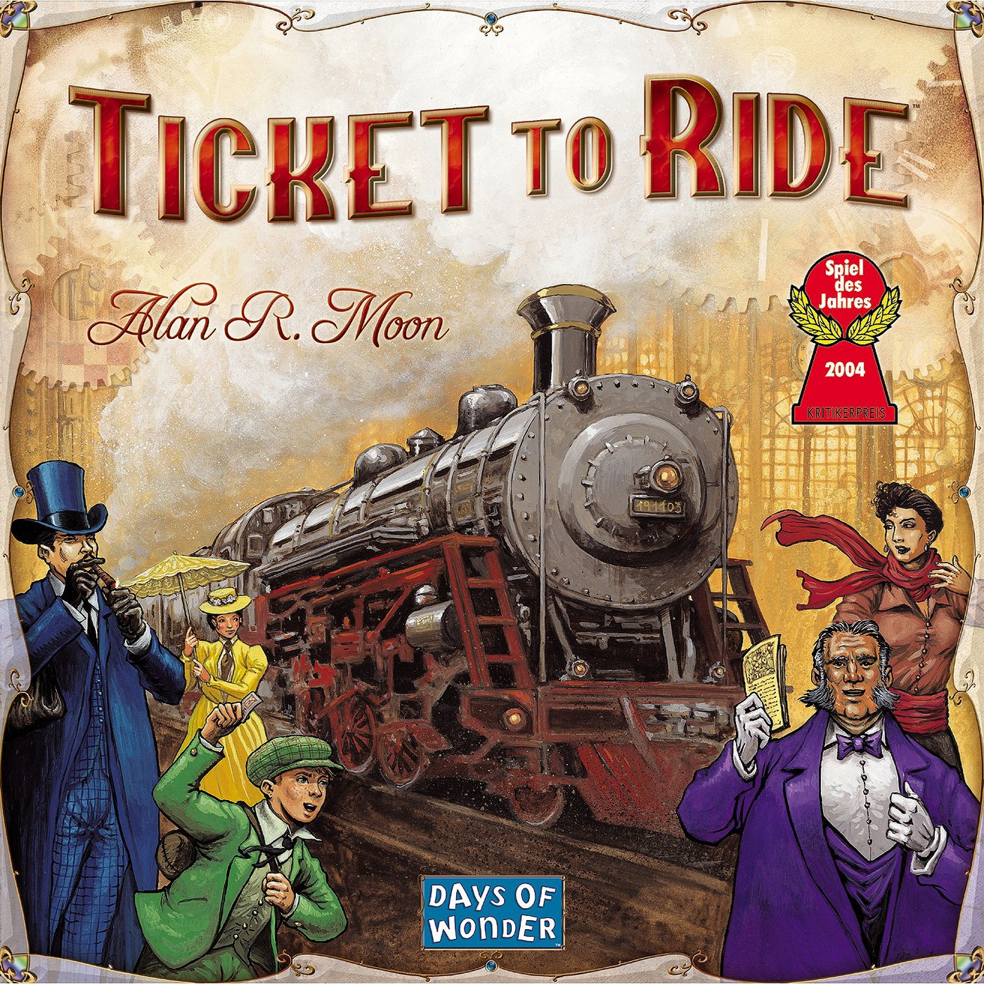 Ticket To Ride Board Game - image 1 of 3