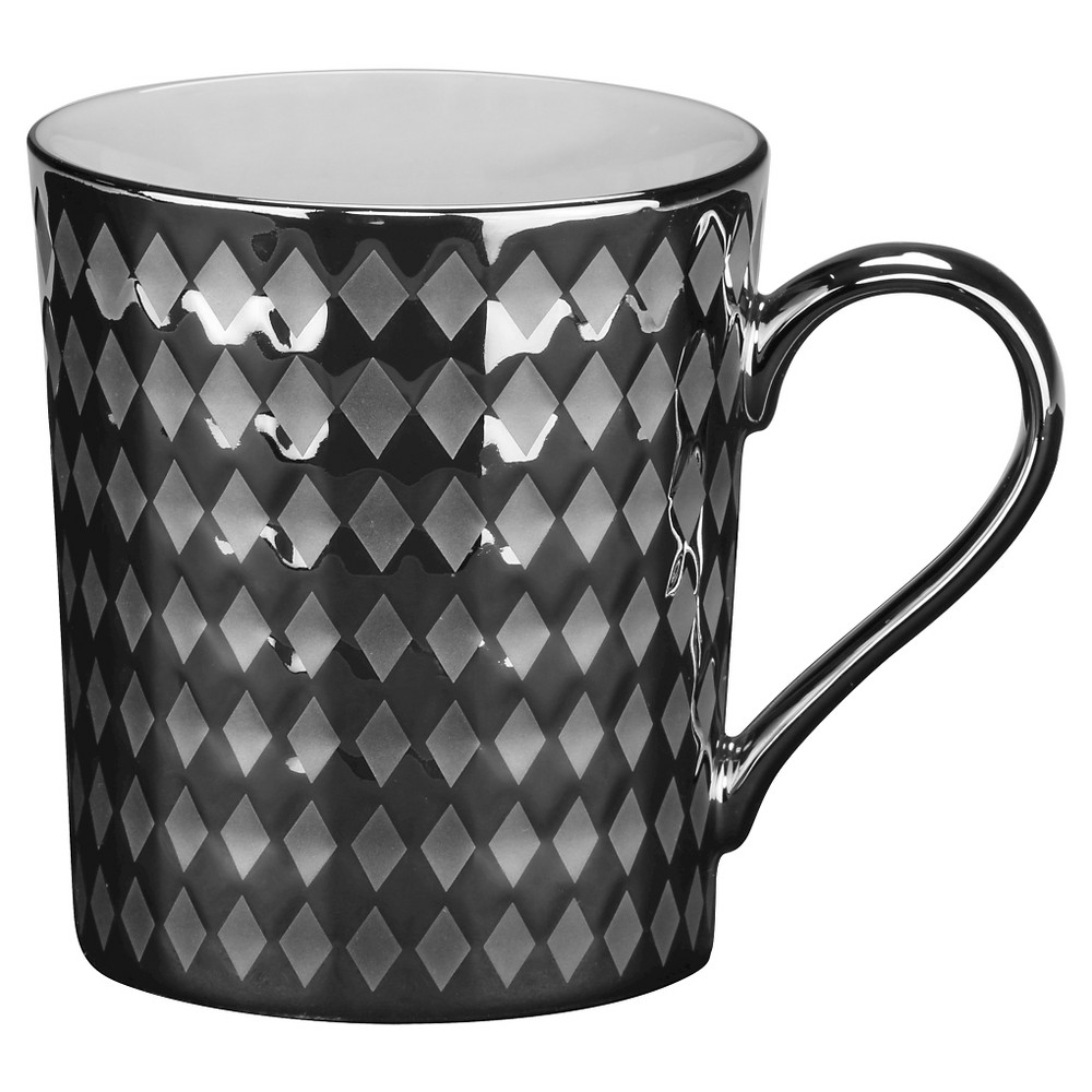 Image of 10 Strawberry Street 20oz Cairo Silver Mug - Set of 6