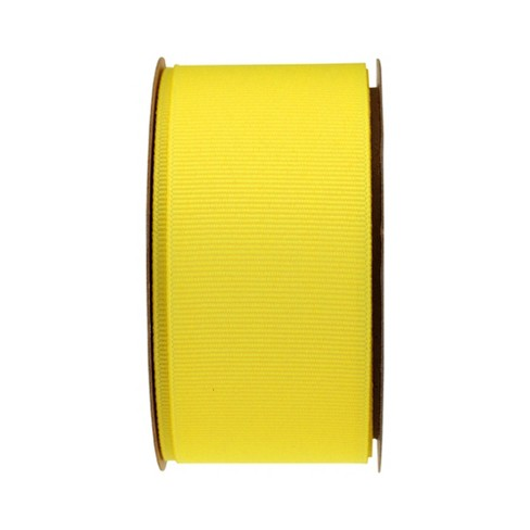 Yellow Grosgrain Fabric Ribbon - Spritz™ - image 1 of 2