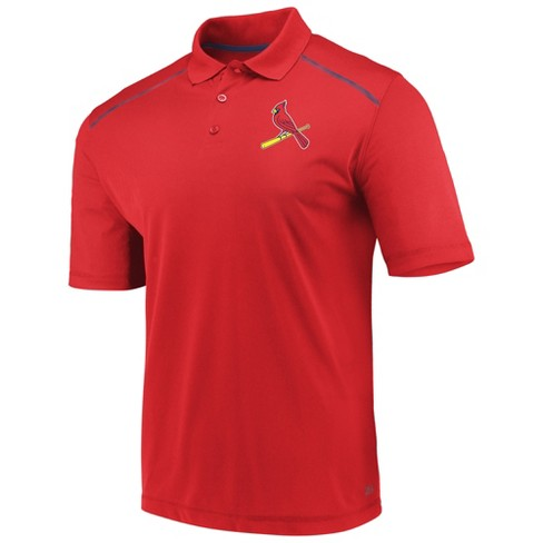 MLB St. Louis Cardinals Men's Fan Engagement Polo Shirt - image 1 of 3