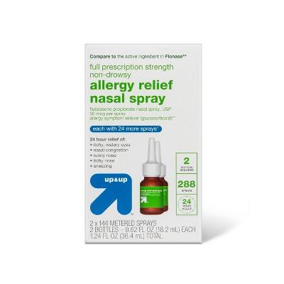Fluticasone Propionate Allergy Relief Nasal Spray - 288 sprays/1.24 fl oz - up & up™