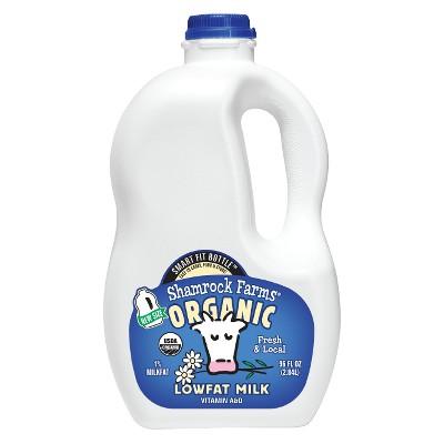 Shamrock Farms Organic 1% Milk - 96 fl oz
