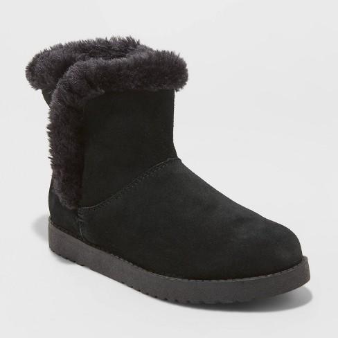 Women's Bellina Suede Short Boots - Universal Thread™ - image 1 of 3