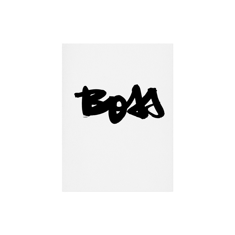 Kal Barteski Boss Art Print 11