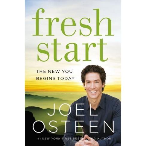 Fresh Start Hardcover Joel Osteen Target