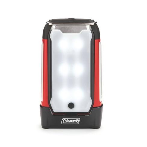 Coleman 2-Panel 400L LED Lantern - Red