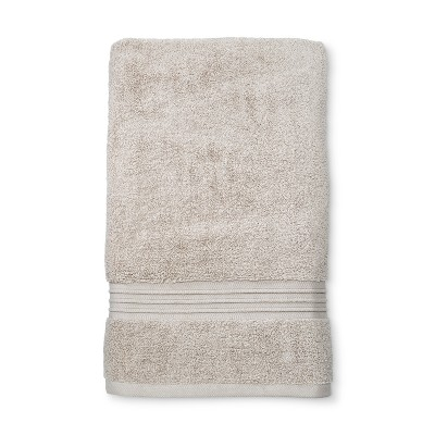 Spa Solid Bath Sheet Beige Linen - Fieldcrest®