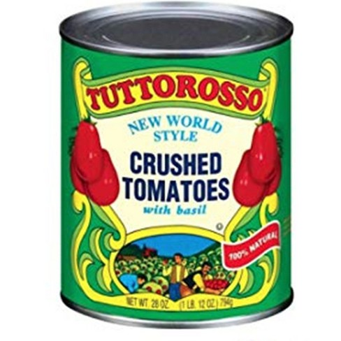Tuttorosso Crushed Tomatoes with Basil 28 oz - image 1 of 1