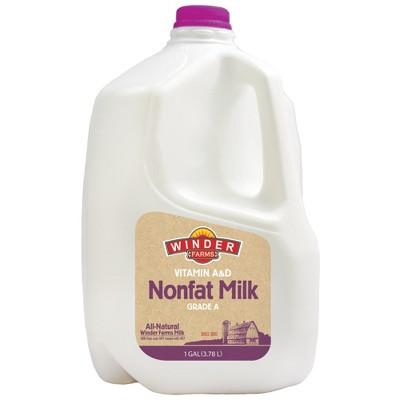 Winder Farms Skim Milk - 1gal